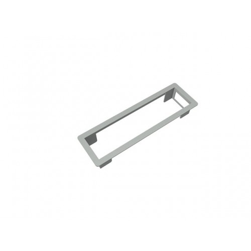 Powerframe 224,5x60mm zilver