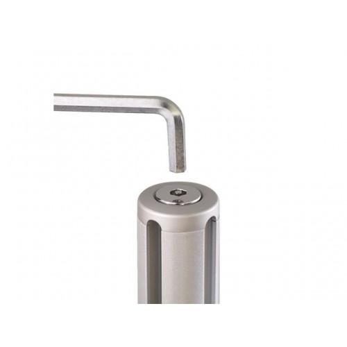 Q4 beveiligingskap-B zilver