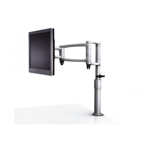 ZOOM 103 monitorarm M12 zilver